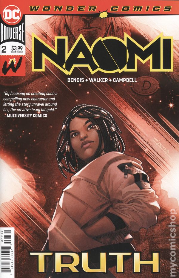 Naomi (2018 DC) comic books