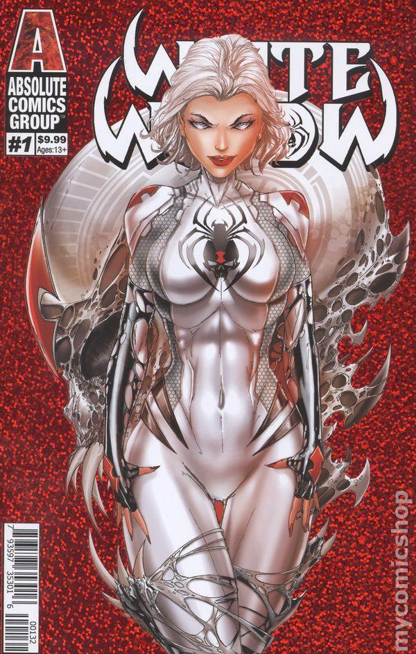 White Widow #4 CGC 9.8 Greg Horn Art Edition C Cover Variant Virgin Blood Widow