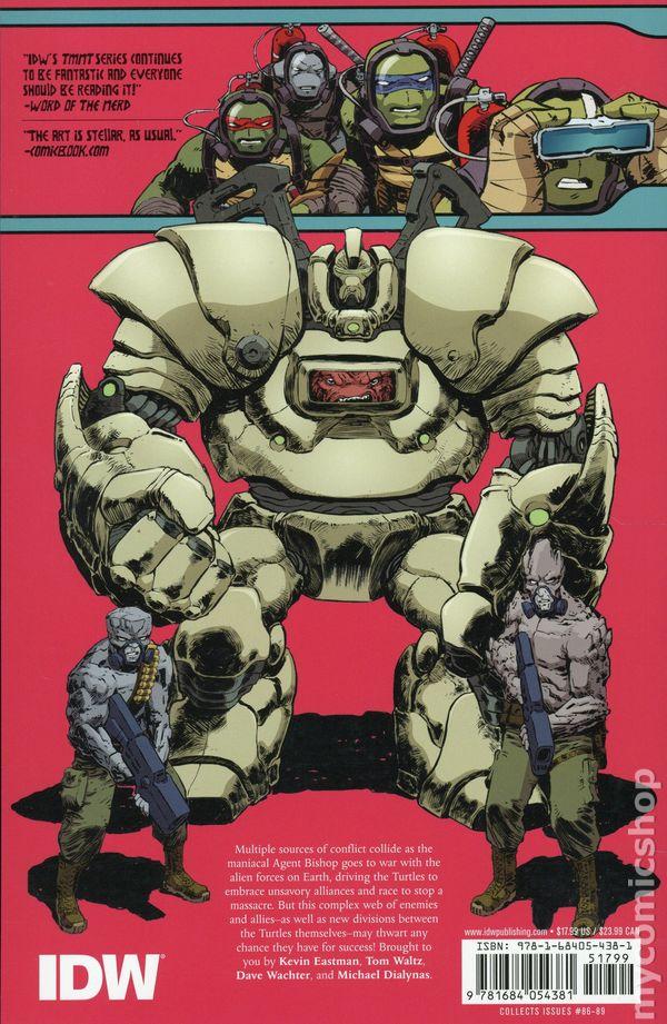 Teenage Mutant Ninja Turtles comic books issue 21