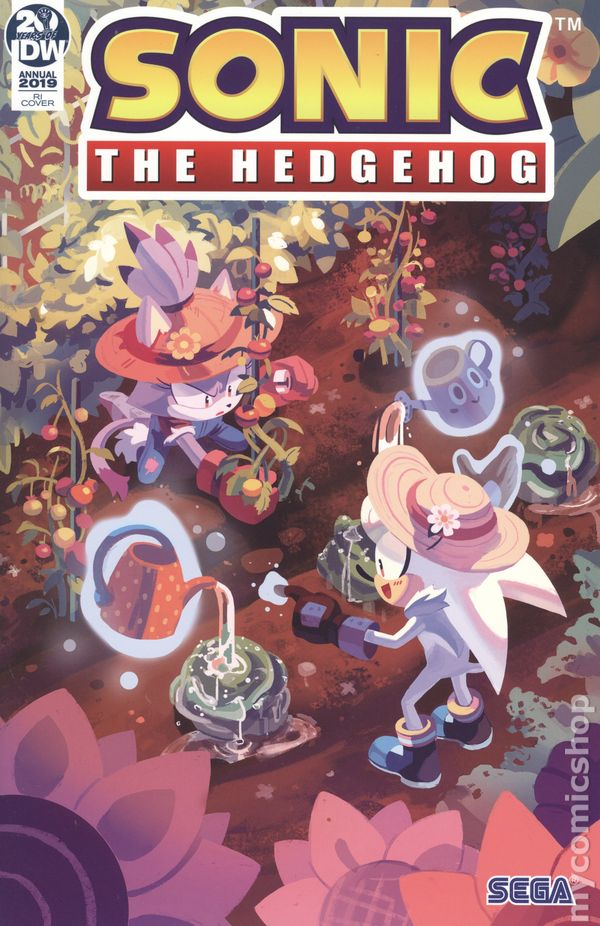 Sonic The Hedgehog 2018 Idw Annual Comic Books