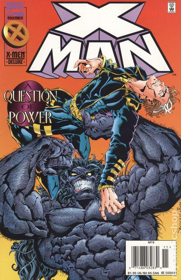 9.2 X-Man #48 February 1999 Marvel NM 1995 Series
