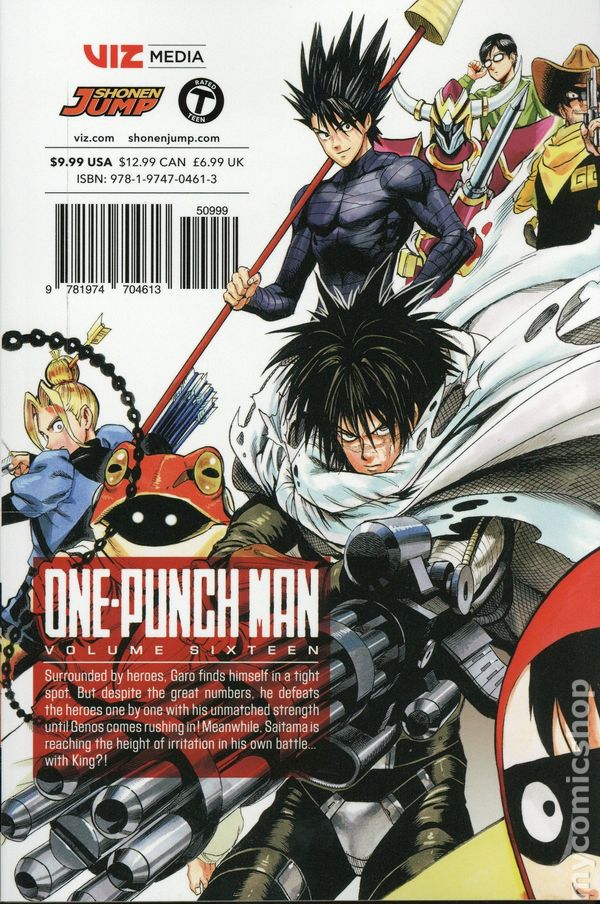 One-Punch Man TPB (2015- Viz Digest) comic books
