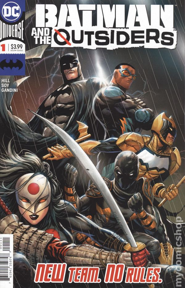 Batman and the Outsiders #3 Main Cover STOCK PHOTO DC Comics 2019