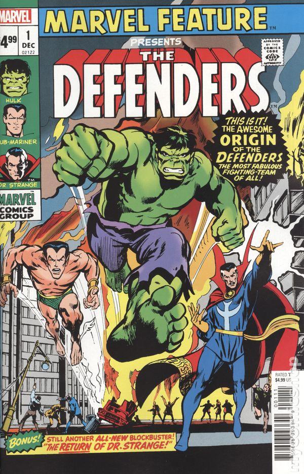 The Defenders #1 Blank Variant NM