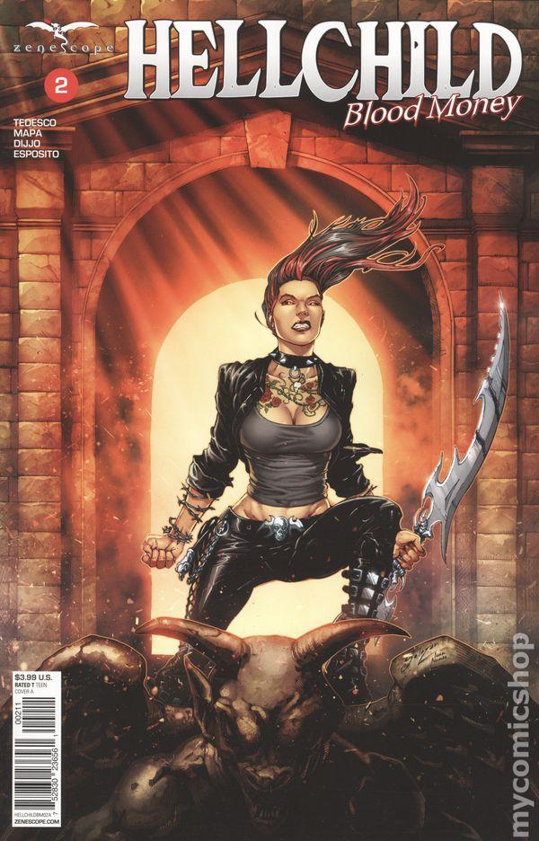 Vault 35 Hellchild Blood Money #1 Cover H 1//350 NM 2019 Zenescope
