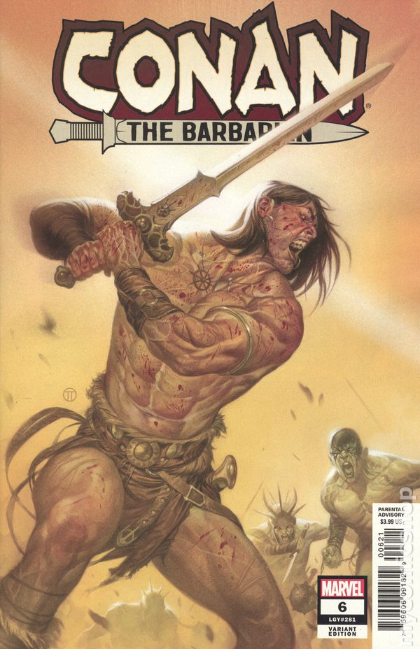 Conan the Barbarian (2018 Marvel) comic books