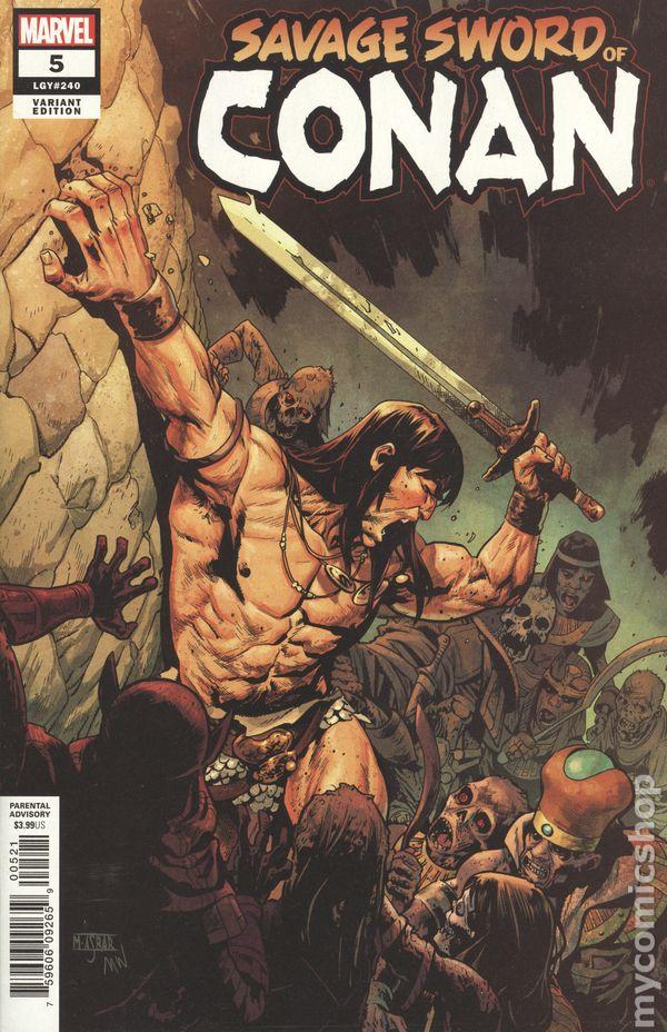 Marvel Comics Very Good Conan The Barbarian #212 1970
