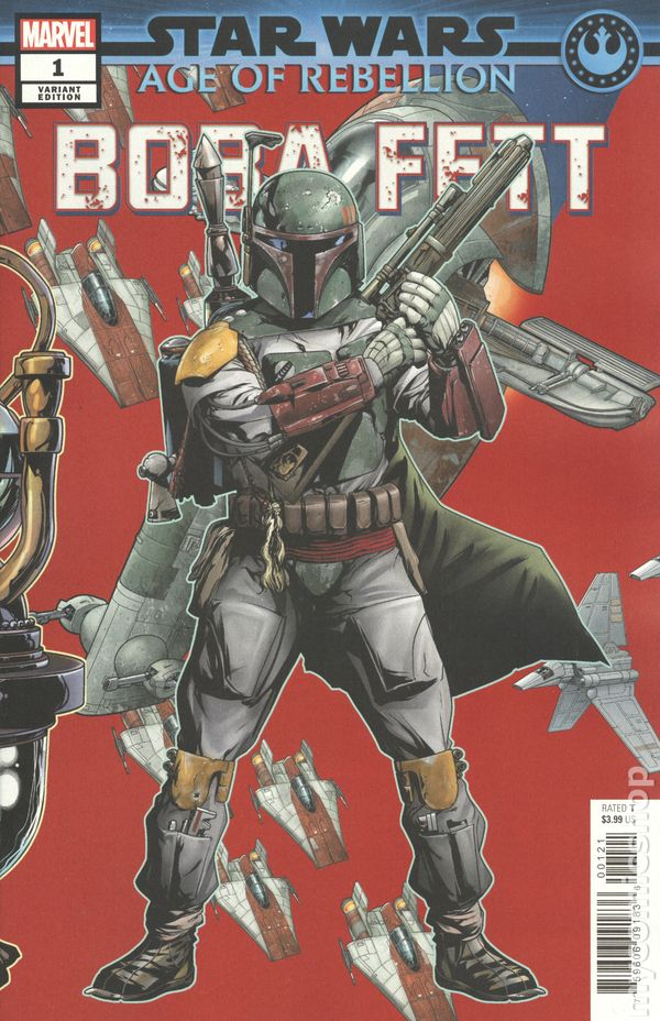 Marvel Comics Star Wars Age of Rebellion BOBA FETT #1 first printing