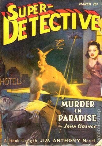 Super-Detective (1940-1950 Trojan Publishing) Pulp comic books