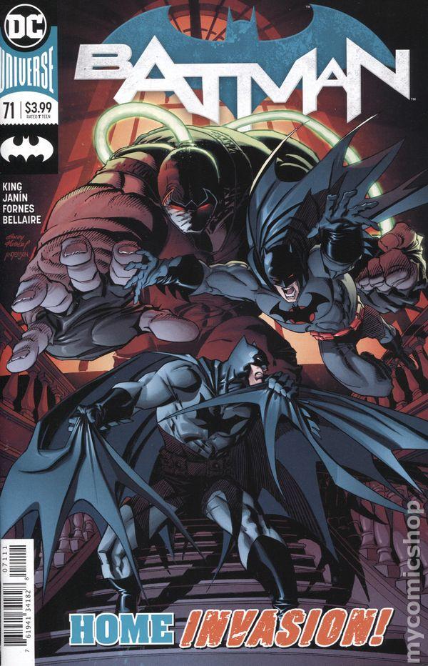 Batman #63 DC Comics Choice of Main or Tony S Daniel Variant Cover NM