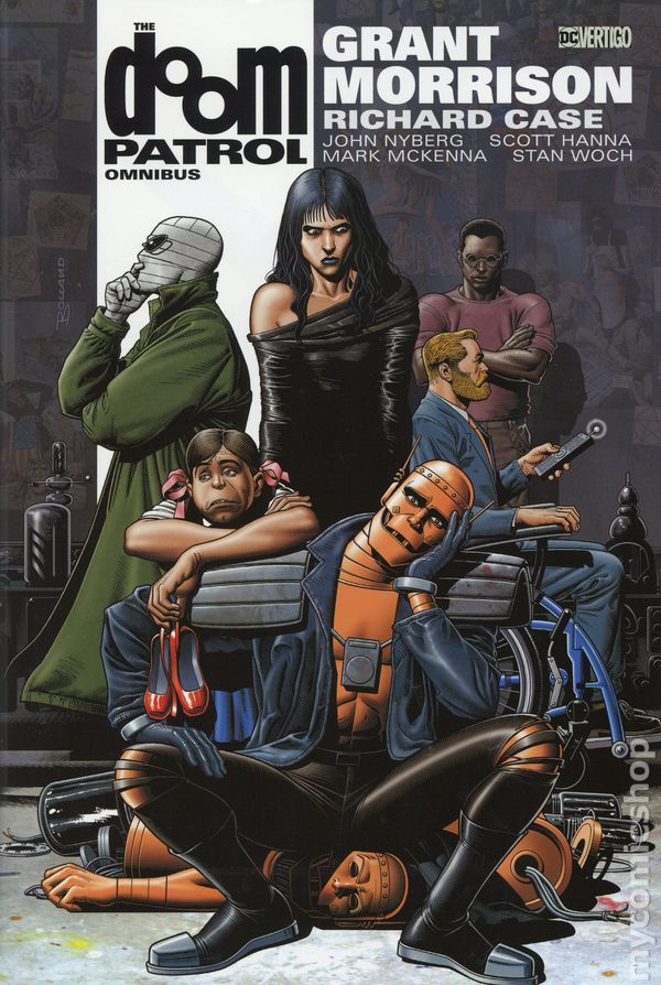 Doom Patrol Omnibus Hc 2014 Dc Vertigo By Grant Morrison Comic Books