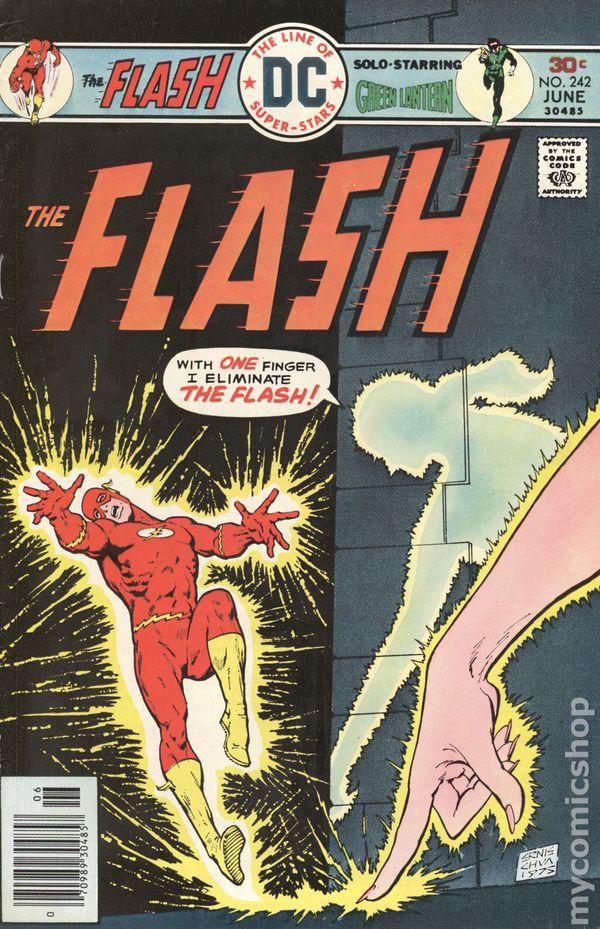 1st Series DC Flash #228 1974 VG 3.5 Stock Image Low Grade
