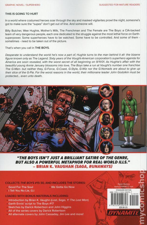 Boys Omnibus TPB (2019 Dynamite) comic books