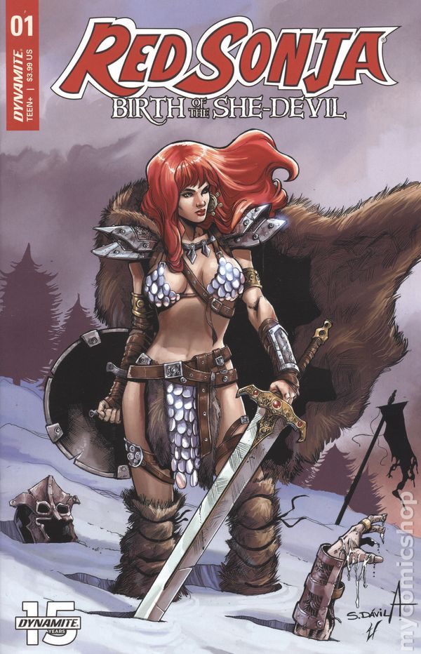 Red Sonja Birth of the She Devil #3C Cosplay Variant VF 2019 Stock Image