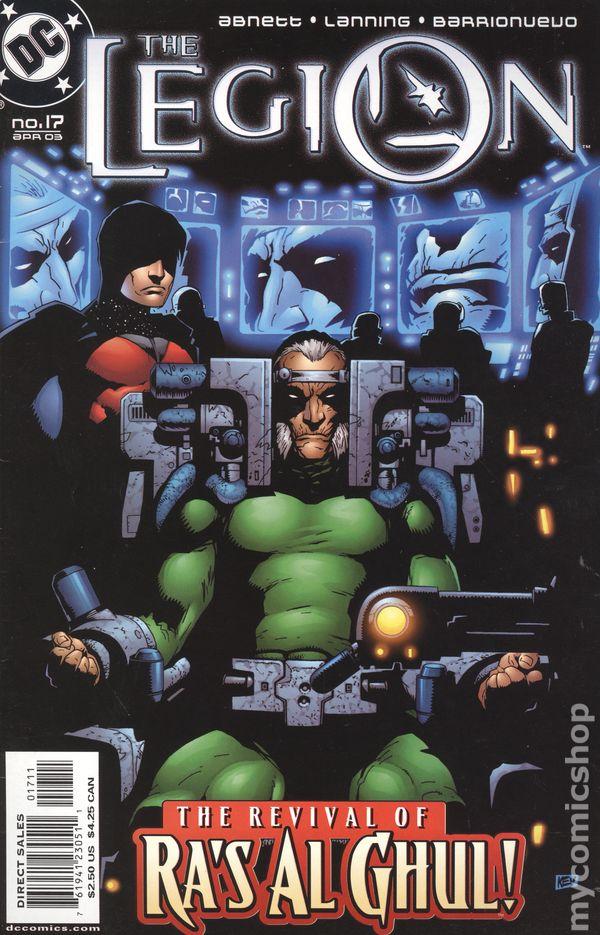 The Legion #11 October 2002 DC Comics Abnett Lanning
