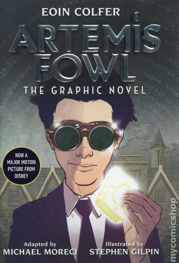 Comic Books In Artemis Fowl Hc Disney Hyperion