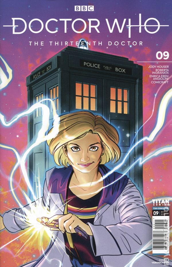 Doctor Who the Thirteenth Doctor #9A NM 2019 Stock Image