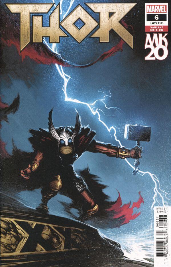 Thor #2 Young Guns Variant Jason God of Thunder Marvel Comic 1st Print 2018 NM
