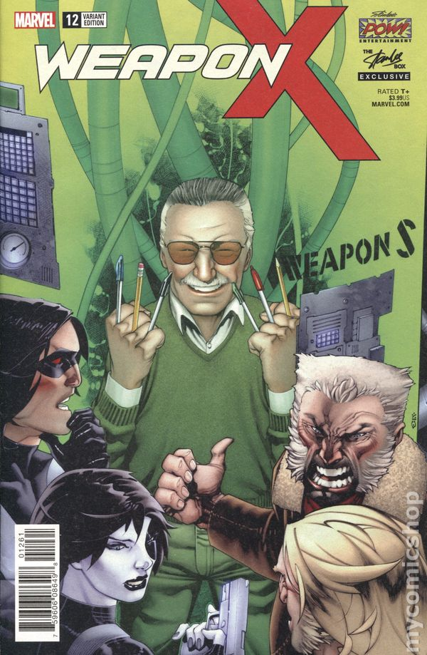 Weapon X #20 NM 2018 Stock Image
