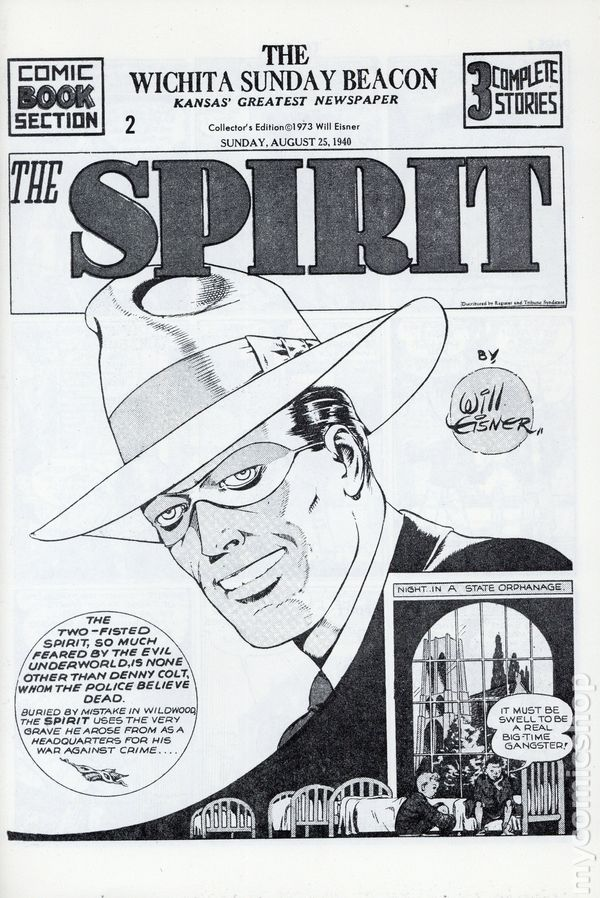 Spirit Weekly Newspaper Comic (1972) Collectors' Edition Reprints