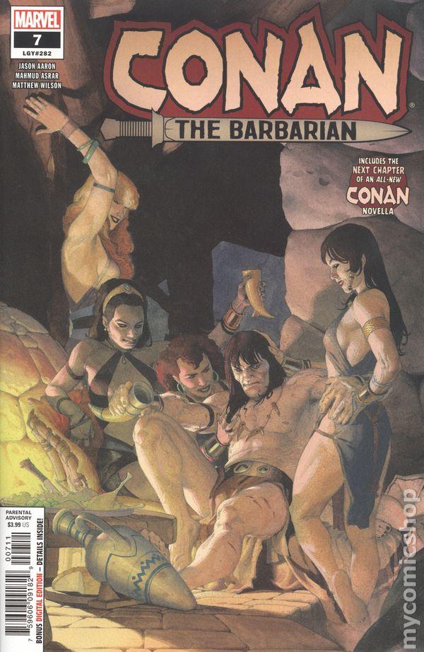 Conan the Barbarian (2018 Marvel) 7A comic book