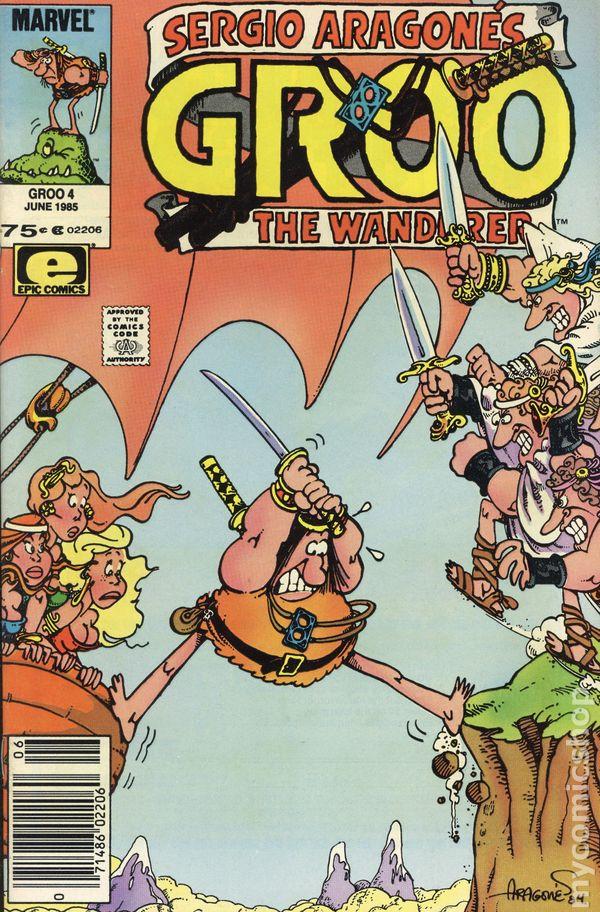 GROO THE WANDERER #23 VERY FINE 1985 EPIC COMICS SERGIO ARAGONES