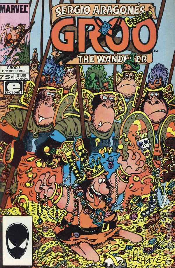Groo the Wanderer #32 FN 1987 Stock Image