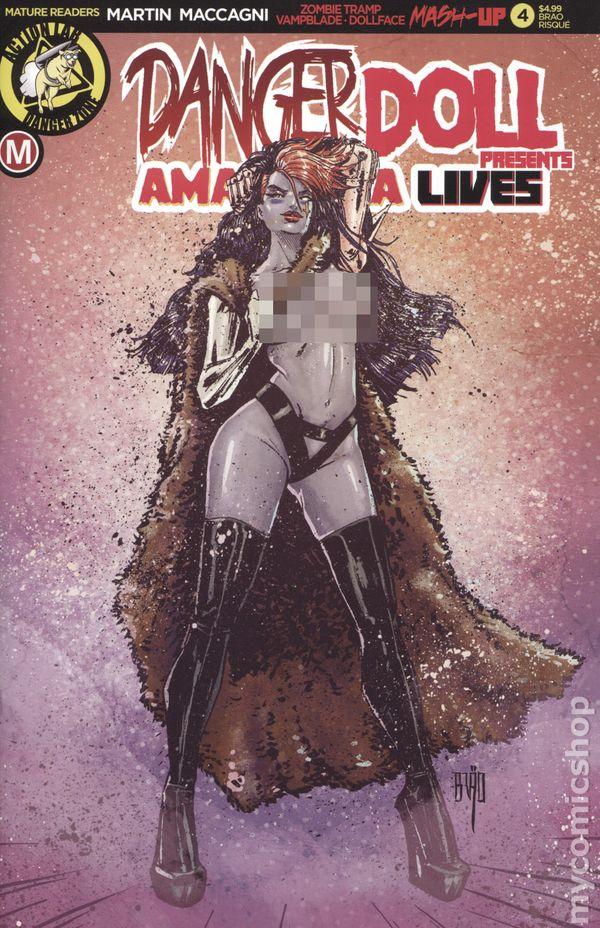 Danger Doll Squad Presents Action Lab VF//NM to NM Amalgama Lives #1 2019