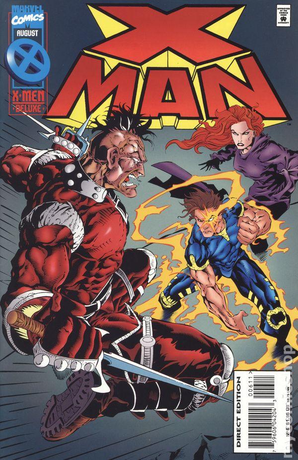 X-Man 1995 series # 19 near mint comic book