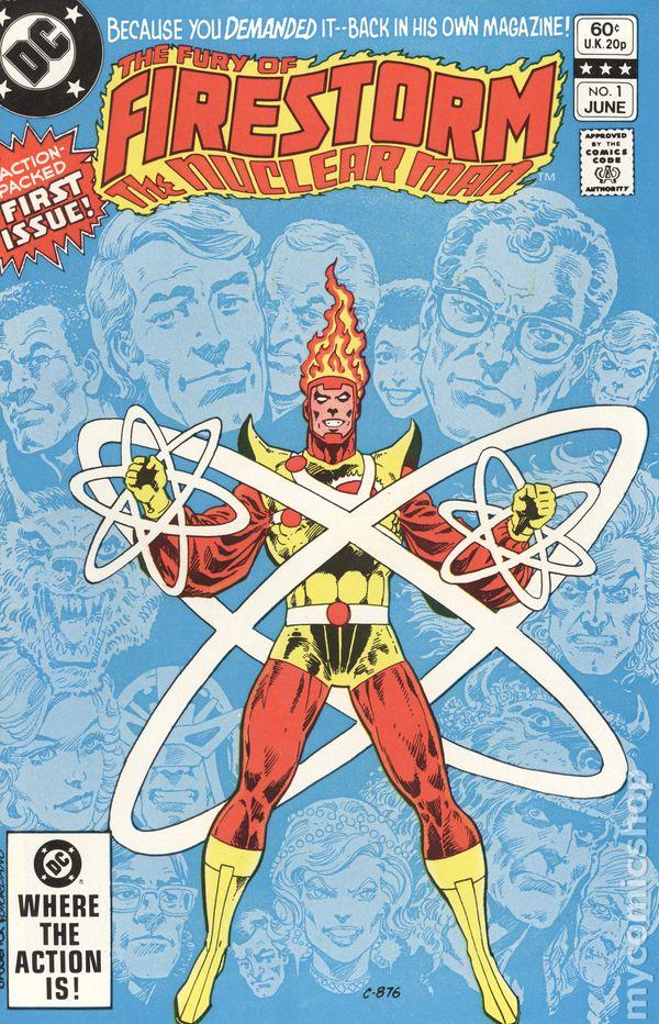 Firestorm #3 FN 1982 Stock Image