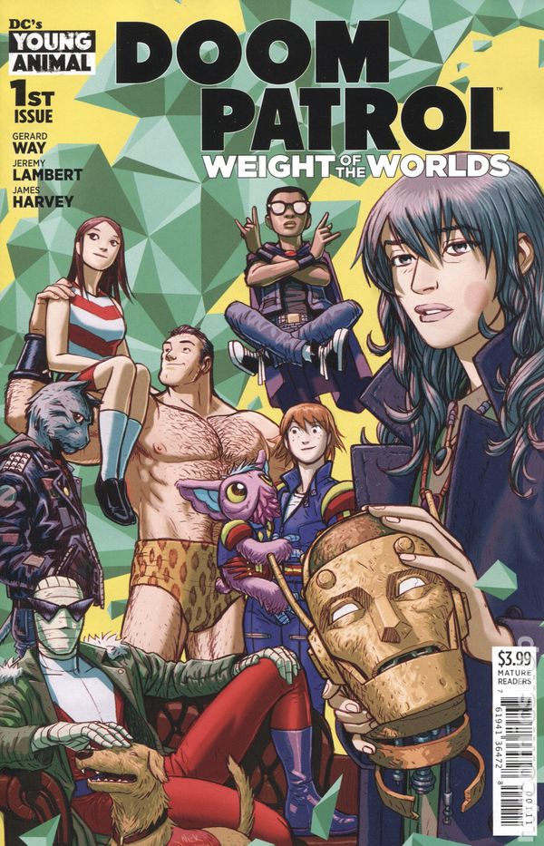 Doom Patrol Weight Of The Worlds 2019 Comic Books