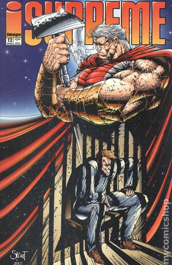 Supreme No.41 1996 American Entertainment Exclusive Variant Cover Alan Moore