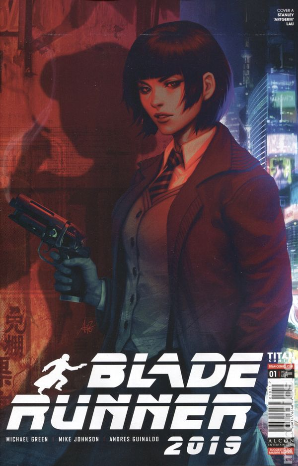 #7 VF//NM John McCrea Cover A Titan Comics 2019 Blade Runner 2019