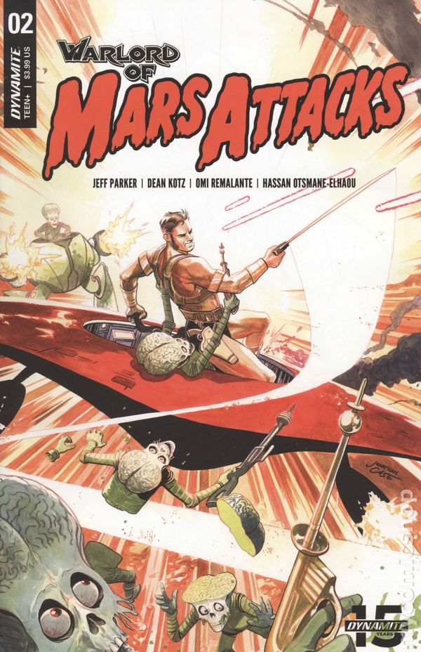 Vault 35 Warlord of Mars Attacks #4 Cover D NM 2019 Dynamite