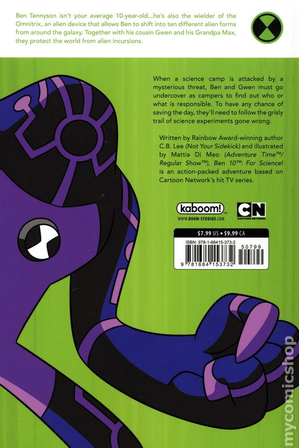Ben 10 For Science GN (2019 Boom Studios) 1-1ST NM