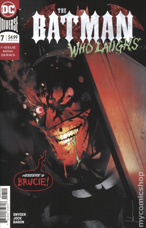BATMAN Who Laughs #2 C JOCK 2nd print NM
