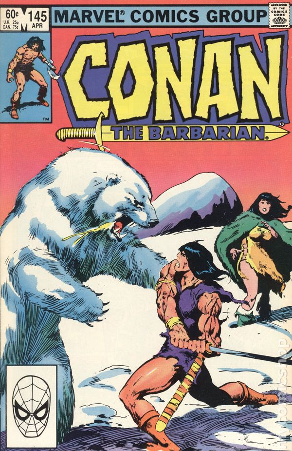 Conan the Barbarian #112 VF 1980 Stock Image