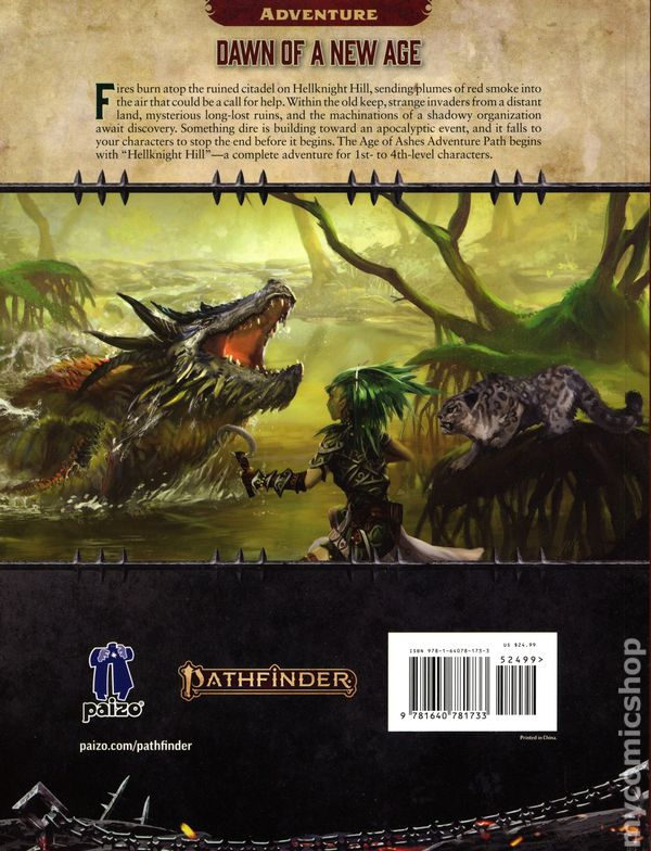 Pathfinder Adventure Path: Age of Ashes SC (2019 Paizo) RPG 2nd Edition  1-1ST NM