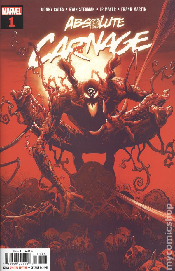 Absolute Carnage 1A Stegman Variant VF 2019 Stock Image