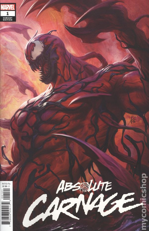 Absolute Carnage Avengers #1 Marvel VF//NM 9279