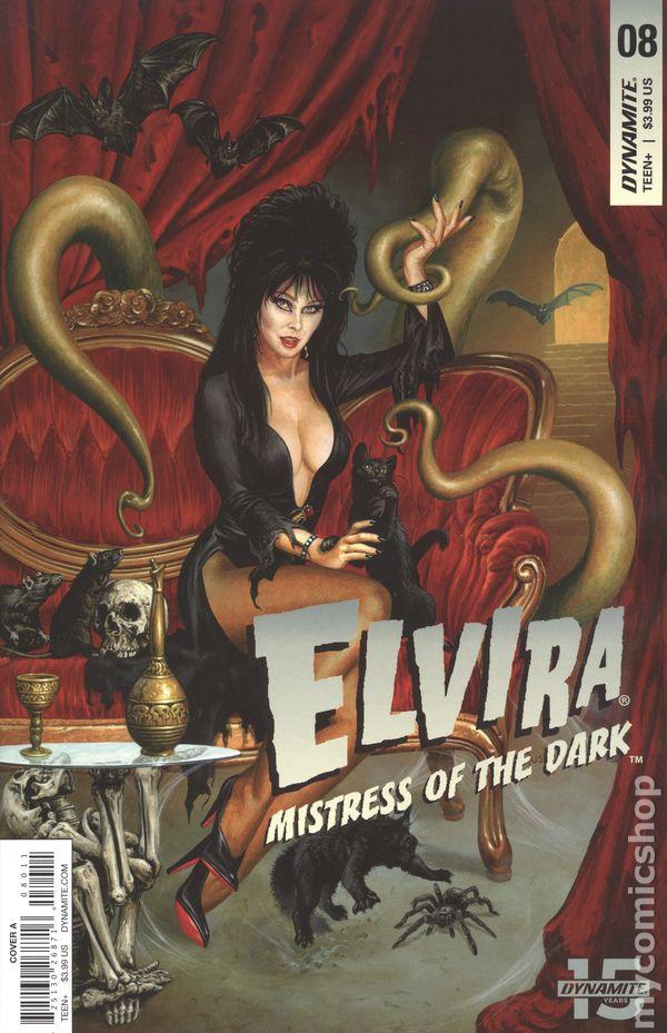Elvira The Shape of Elvira #4C Acosta Variant VF 2019 Stock Image