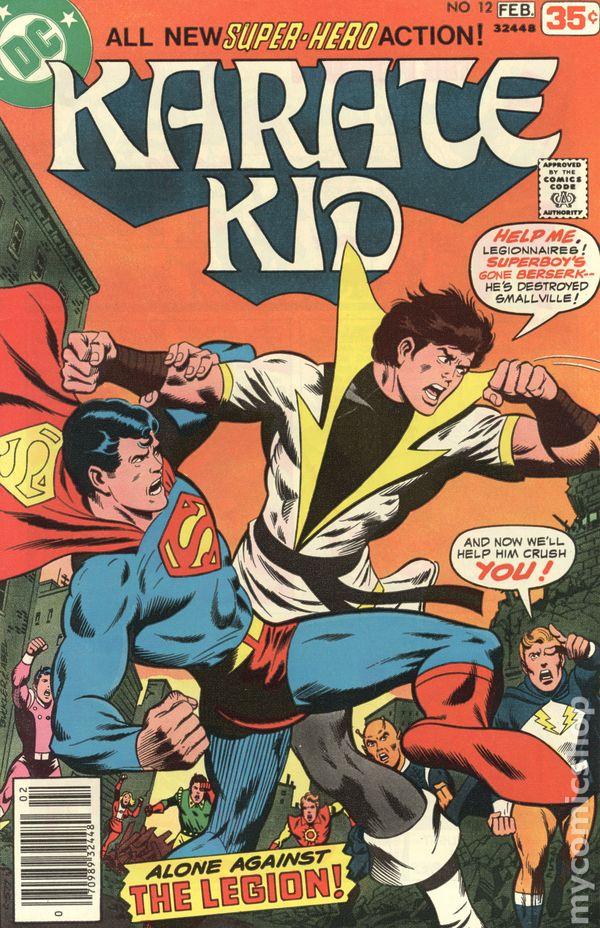 Karate Kid #3 FN 1976 Stock Image