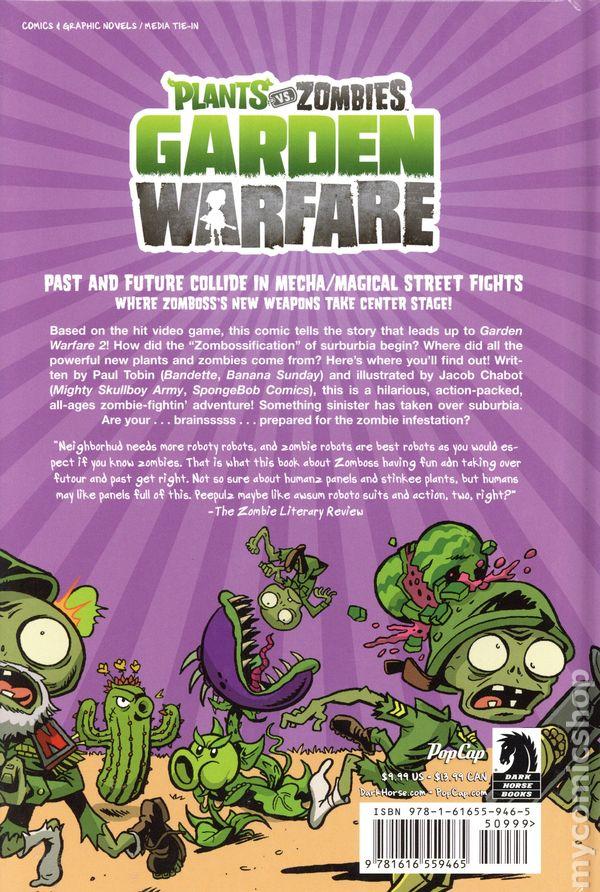 Plants Vs Zombies Garden Warfare Hc 2016 Dark Horse Comic Books