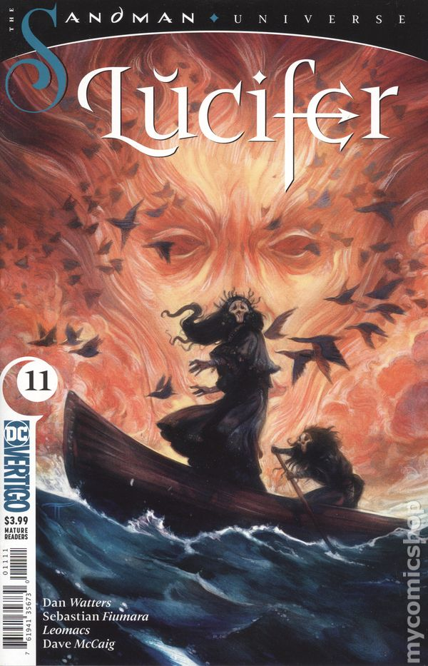 Lucifer #6 VF 2019 Stock Image
