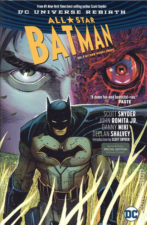 Vol Declan Shalvey Variant 1 # 1 1st Print DC All-Star Batman