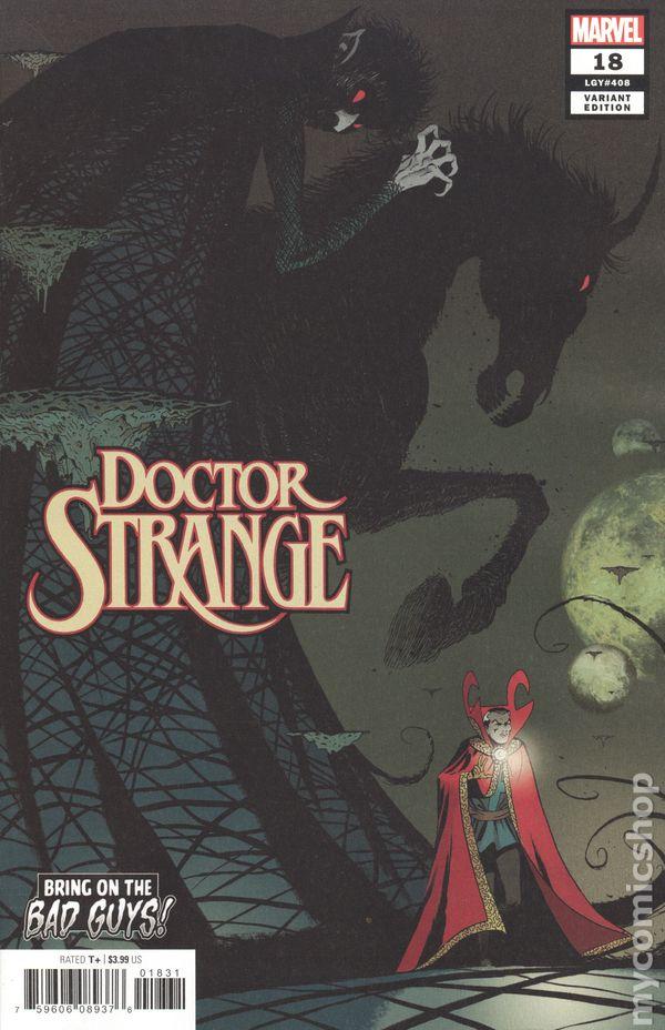 Doctor Strange #20A Saiz Variant VF 2019 Stock Image