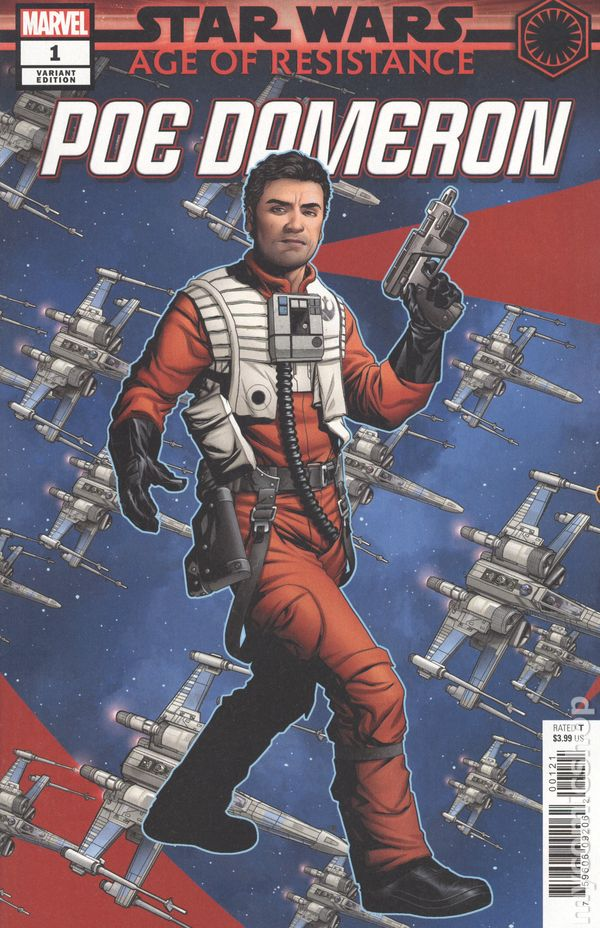 Star Wars Age of Resistance Poe Dameron 1A Noto Variant VF 2019 Stock Image