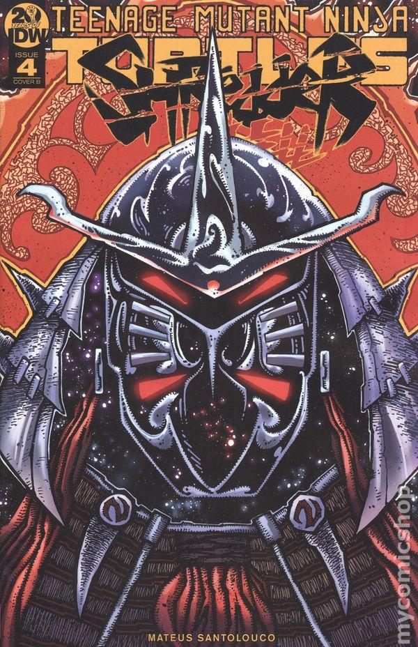 Teenage Mutant Ninja Turtles Shredder In Hell 2018 Idw Comic Books