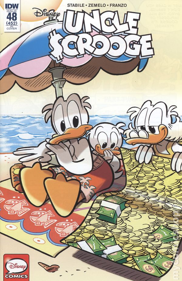 Uncle Scrooge #52RI VF Stock Image