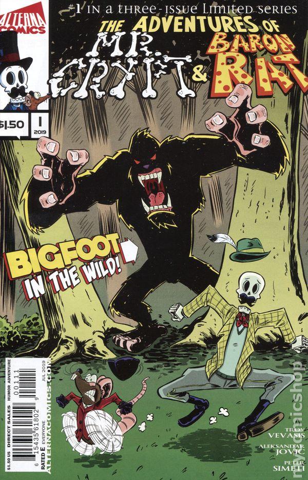 Croak #1 NM Alterna  Inc Comic Vault 35